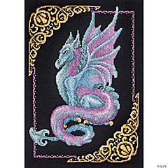 Counted Xstitch Kit-Mythical Dragon