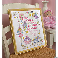 Counted Xstitch Kit-Princessbirth Record
