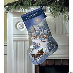 Counted Xstitch Kit-Sleigh Ride