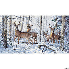 Counted Xstitch Kit-Woodland Winter