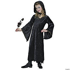 Countessa Hooded Robe Kid's Costume