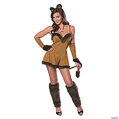 Cowardly Lioness Secret Wish Costume for Women