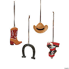 Cowboy Christmas Ornaments