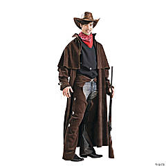 Cowboy Deluxe Adult Men's Costume