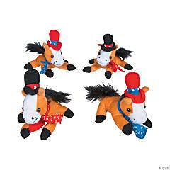 Cowboy Stuffed Horses
