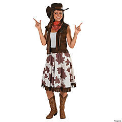 Cowgirl Adult Women's Costume
