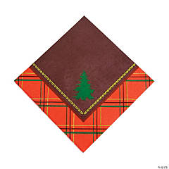 Cozy Christmas Luncheon Napkins