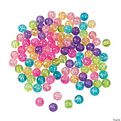 Crackle Pastel Beads