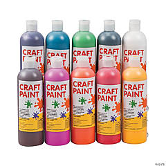 Craft Paint Set - 10 Pc.