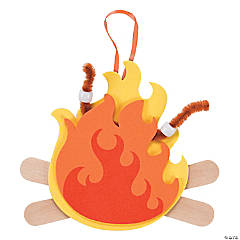 Craft Stick Campfire Ornament Craft Kit
