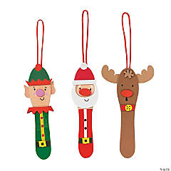 Craft Stick Christmas Ornament Craft Kit