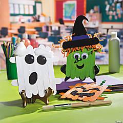 Craft Stick Halloween Character Idea