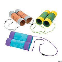 Craft Tube Binoculars Craft Kit