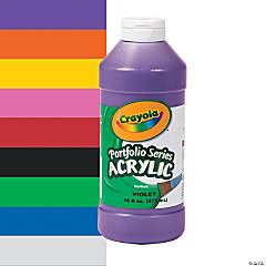 Crayola® Acrylic Paints - 16 oz.