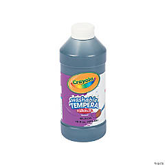 Crayola® Artista II Washable Black Tempera Paint - 16 oz.