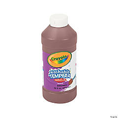 Crayola® Artista II Washable Brown Tempera Paint - 16 oz.