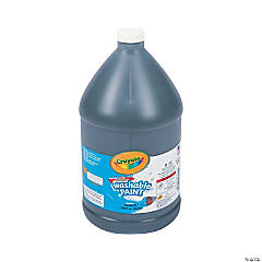 Crayola® Black Washable Paint - Gallon