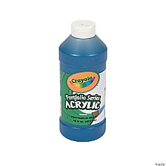Crayola® Blue Acrylic Paint - 16 oz.