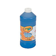 Crayola® Blue Washable Fingerpaint - 32 oz.