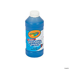 Crayola® Blue Washable Paint - 16 oz.