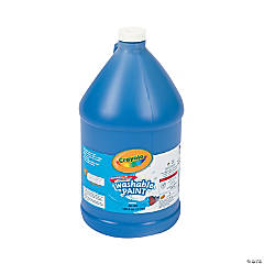 Crayola® Blue Washable Paint - Gallon
