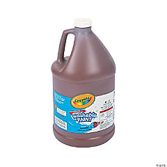 Crayola® Brown Washable Paint - Gallon