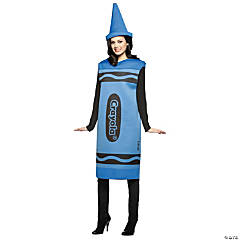 Crayola® Crayon Blue Adult's Costume