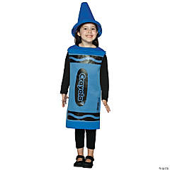 Crayola Crayon Blue Kid's Costume