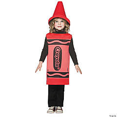 Crayola Crayon Toddler Red Kid's Costume