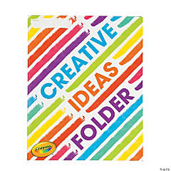Crayola® Creative Process Pocket Folders