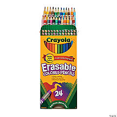 Crayola® Erasable Colored Pencils - 24