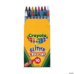 Crayola® Glitter Crayons - 16 Count