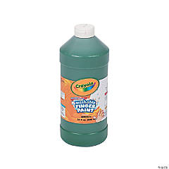 Crayola® Green Washable Finger Paint - 32 oz.