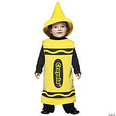 Crayola Infant Yellow Kid's Costume