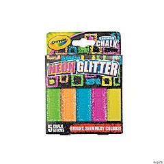 Crayola® Neon Glitter Chalk