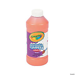 Crayola® Orange Tempera Paint - 16 oz.
