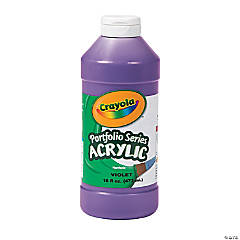 Crayola® Purple Acrylic Paint - 16 oz.
