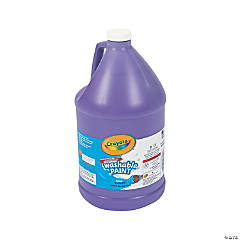 Crayola® Purple Washable Paint - Gallon