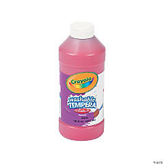 Crayola® Red Tempera Paint - 16 oz.