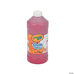 Crayola® Red Washable Finger Paint - 32 oz.