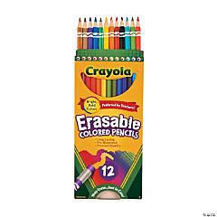 Crayola<sup>&#174;</sup> Erasable Colored Pencils - 12 Count