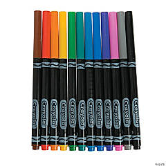 Crayola<sup>&#174;</sup> Fine Line Markers - Classic Colors