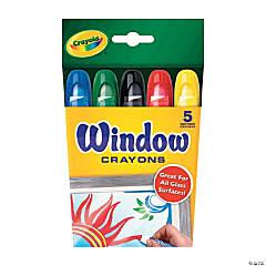 Crayola<sup>&#174;</sup> Window Crayons