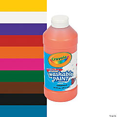 Crayola® Washable Paint - 16 oz.