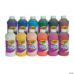 Crayola® Washable Tempera Paint Assortment