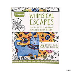 Crayola® Whimsical Escapes Adult Coloring Book