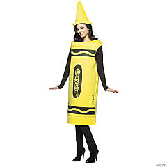 Crayola Yellow Adult Men's Costume