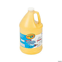 Crayola® Yellow Washable Paint - Gallon