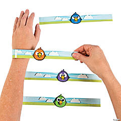 Crazy Bird Slap Bracelet Craft Kit