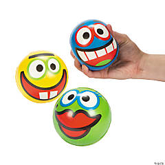 Crazy Face Stress Balls